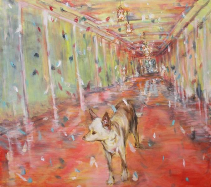 Hana in Candy Coloured Corridor - Eri Ishii