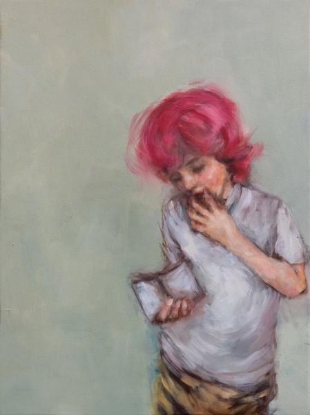 Boy with Pink Hair - Eri Ishii