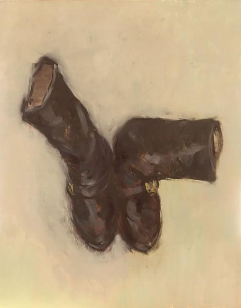 Black Boots with Buckles - Eri Ishii