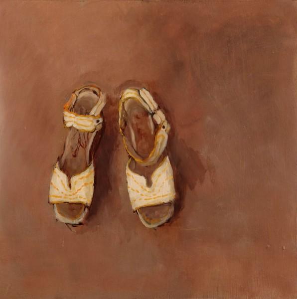 Sandals with Yellow Stitching - Eri Ishii