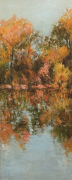 "Reflection II24"" x 60""  Oil on Canvas 2009"